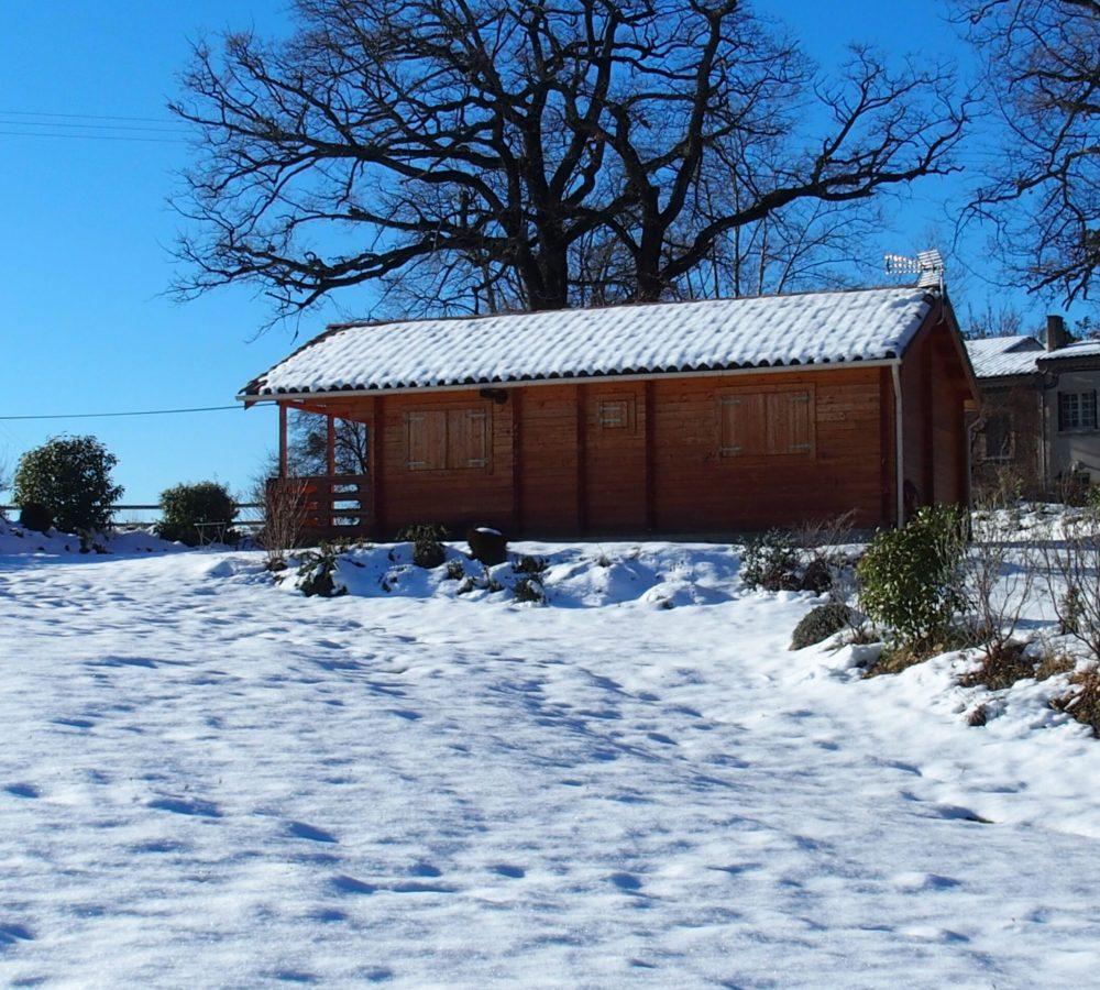 Chalets du Bois de Vache – Neige