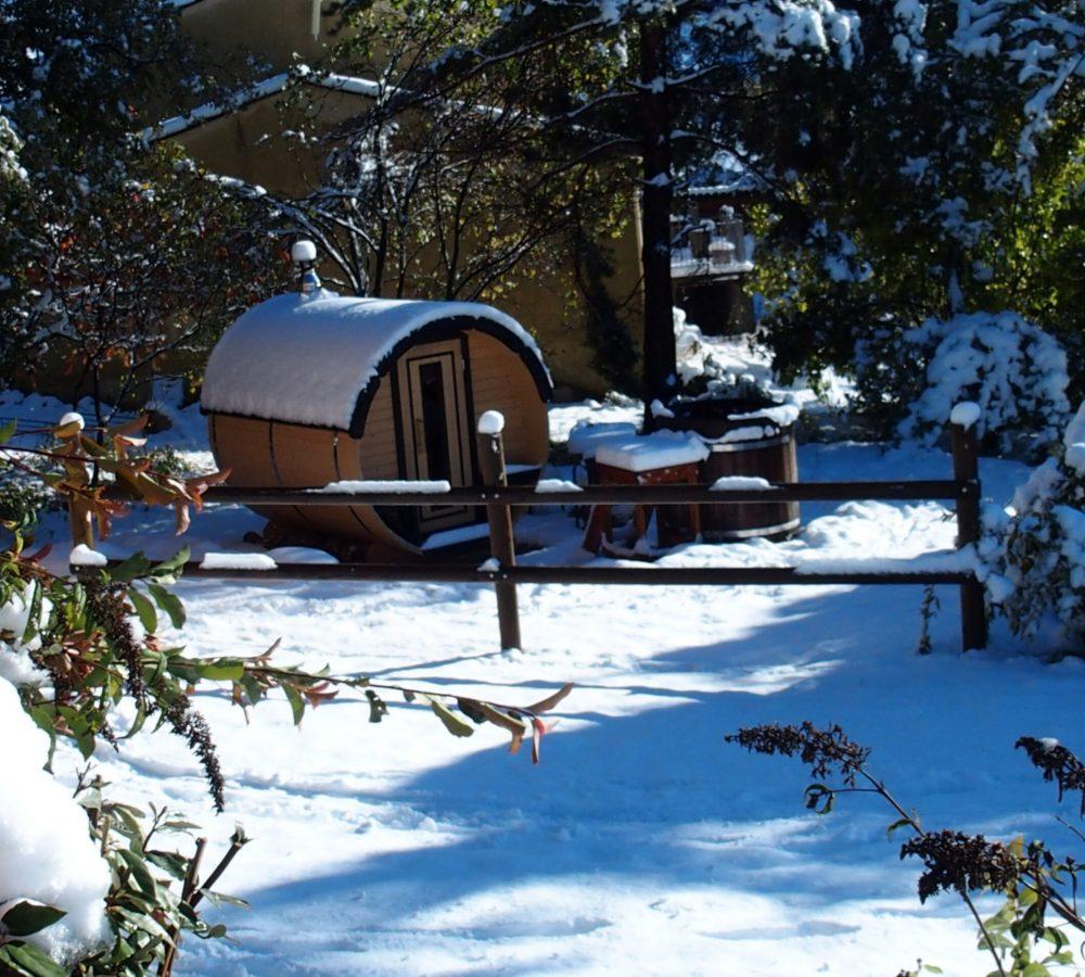 Chalets du Bois de Vache – Sauna